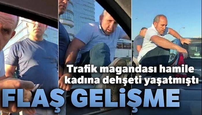 İstanbul'da hamile kadına dehşeti yaşatan maganda hakkında flaş gelişme!
