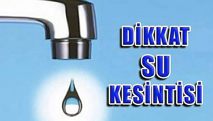 Çanakkale'de su kesintisi