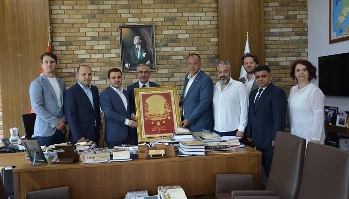 ÇTSO heyeti, Çanakkale Savaşları Gelibolu Tarihi Alan Başkanlığını ziyaret etti