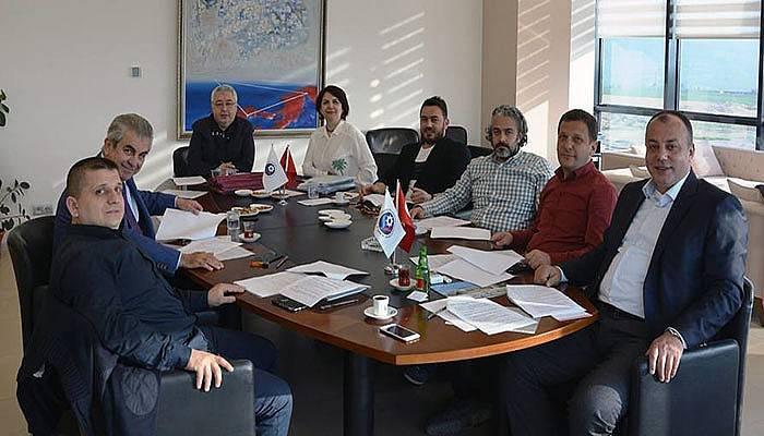 ÇTSO Yönetim Kurulu Toplandı