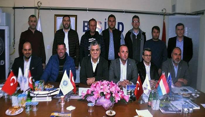AK Parti İlçe Yönetimi BİSİAD'ı ziyaret etti