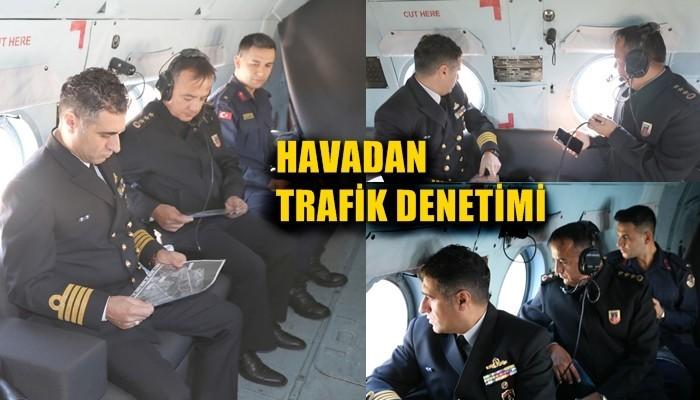 Havadan Helikopterle Trafik Denetimi