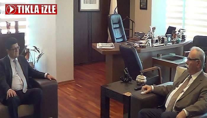 Büyükelçi'den Başkan Gökhan'a Ziyaret