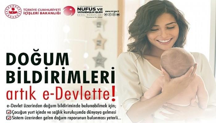 'Doğum Bildirimi Başvurusu' e-Devlet Üzerinden Yapılabilecek