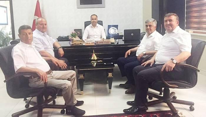 Oda Başkanlarından Milli Eğitim Müdürüne Ziyaret