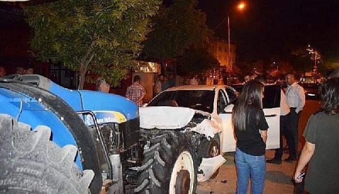 Biga'daki Trafik Kazasında 1 Kişi Yaralandı