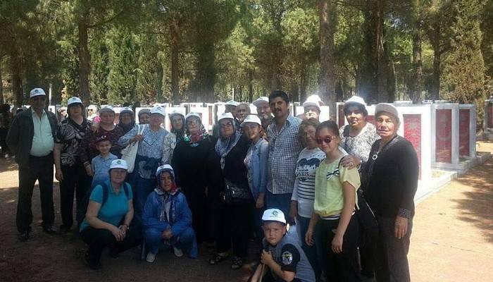 Ergene Belediyesi'nin Çanakkale gezileri devam ediyor