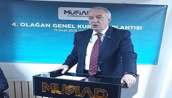 MÜSİAD Çanakkale Şube Başkanı Mutlu, SAMEKS Verilerini Değerlendirdi