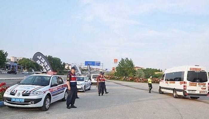 Tekirdağ- Çanakkale karayolunda trafik denetimleri arttı (VİDEO)