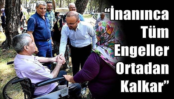 Turan'dan Engelliler Haftası Mesajı