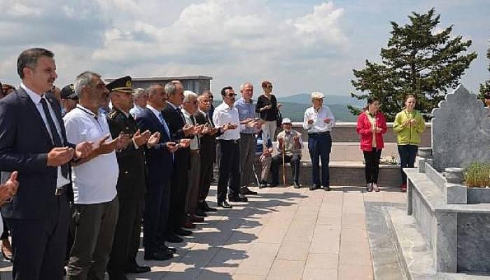 Gelibolu'da Ece Bey mezarı başında anıldı