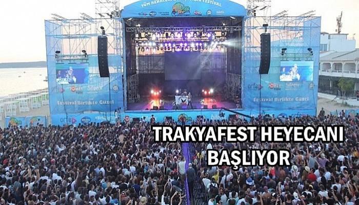 TrakyaFest heyecanı başlıyor