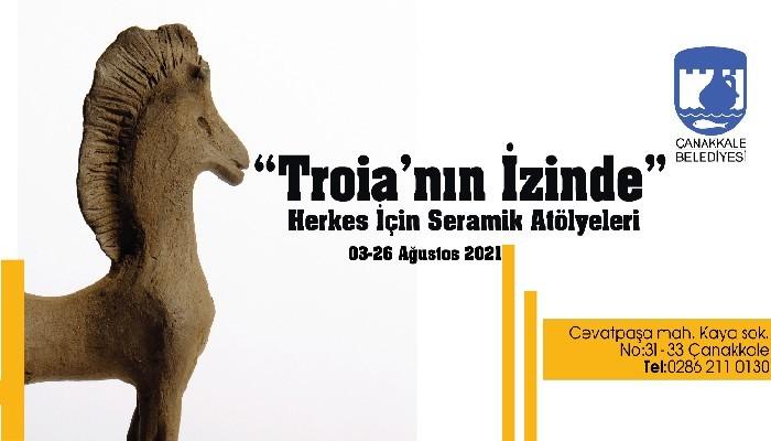 'Troia'nın İzinde' Herkes İçin Seramik Atölyeleri Başlıyor