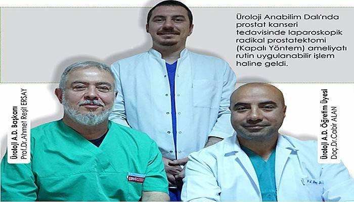 Bu ameliyat ÇOMÜ'de rutin hale geldi