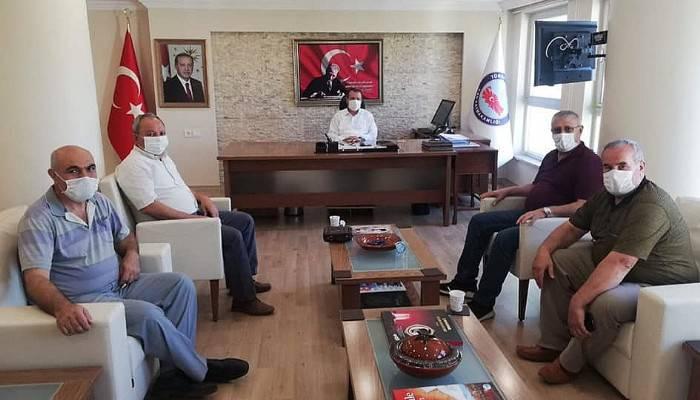 Çan STK Başkanlarından Kaymakam Gürdal'a ziyaret
