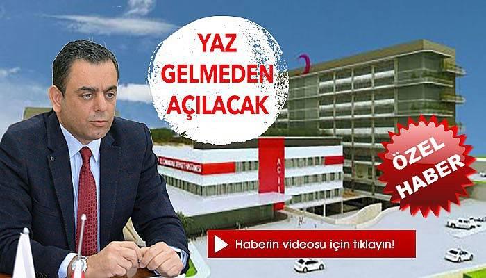 Başhekim Çömez'den yeni hastaneyle ilgili açıklamalar (VİDEO)