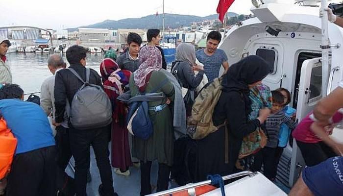 Çanakkale'de 135 kaçak göçmen yakalandı