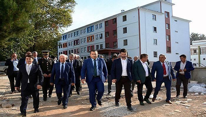 Plevne Ortaokulu ay sonunda açılıyor (VİDEO)