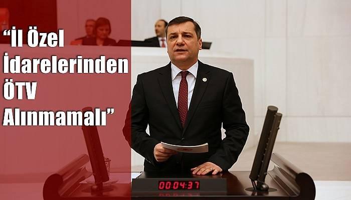 ''İl Özel İdarelerinden ÖTV Alınmamalı''