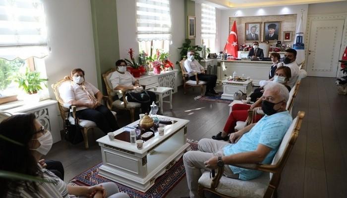 Yeni Yönetimden Vali Aktaş'a Ziyaret