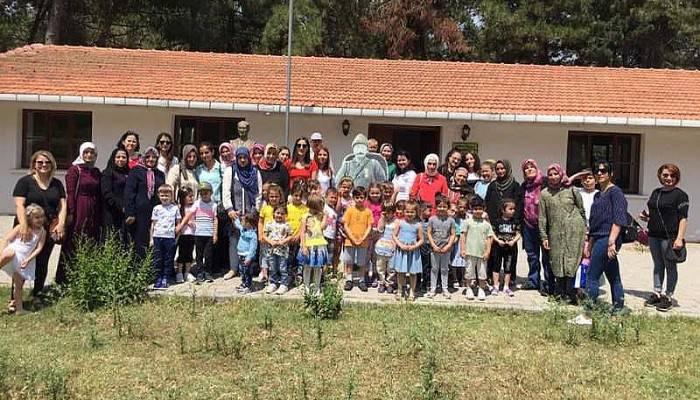 Bigalı Mehmet Çavuş Anaokulu İsim Babasını Ziyaret Etti