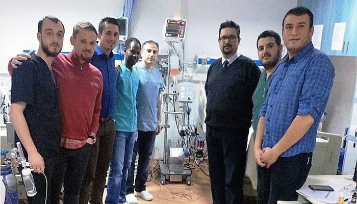 ECMO cihazı onlarca hayat kurtaracak