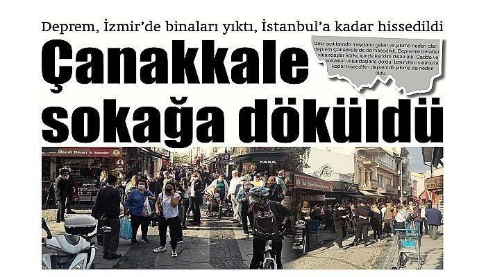 Deprem, İzmir'de binaları yıktı, İstanbul'a kadar hissedildi