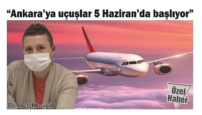 İSTANBUL'A UÇUŞLAR 23 HAZİRAN'DA BAŞLAYACAK