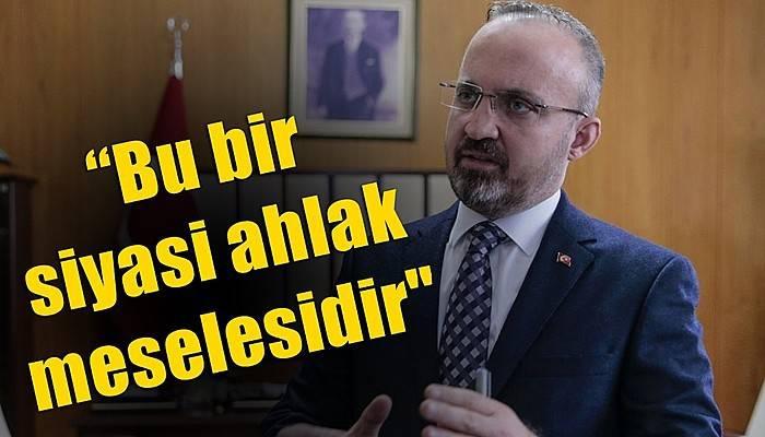 AK Parti Grup Başkanvekili Turan'dan gündeme dair açıklamalar (VİDEO)