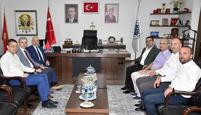 Rektörden Başkan Erdoğan'a Ziyaret