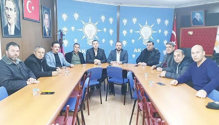 BİGA'DA AK PARTİ MAHALLE BAŞKANLARI TOPLANDI