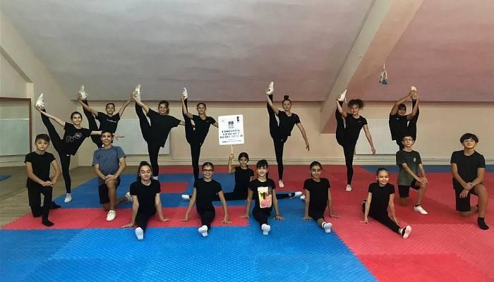 Jimnastik Günü Çanakkale'de Sembolik Olarak Kutlandı