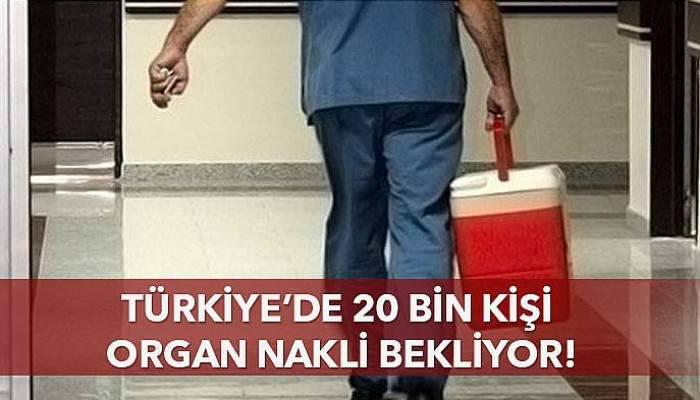 20 bin kişi organ nakli bekliyor!