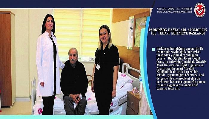 Parkinson Hastalarına Apomorfin Tedavisi