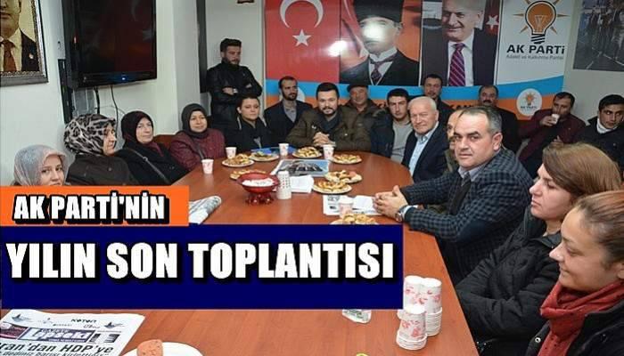 AK Parti Yılın Son Toplantısını Gerçekleştirdi
