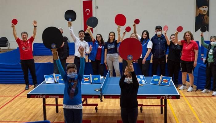 Dünya Masa Tenis Günü Kutlandı
