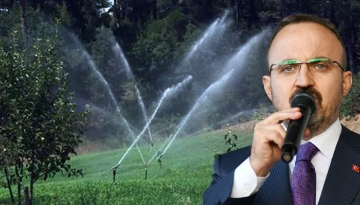 'Su kaynaklarımıza sahip çıkıyoruz'