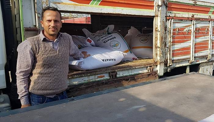 Sertifikalı Tohumlar Çiftçilere Dağıtıldı