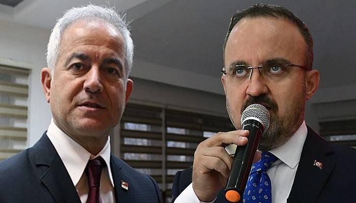 Bülent Turan, CHP'li Güneşhan'ı Çan'da eleştirdi