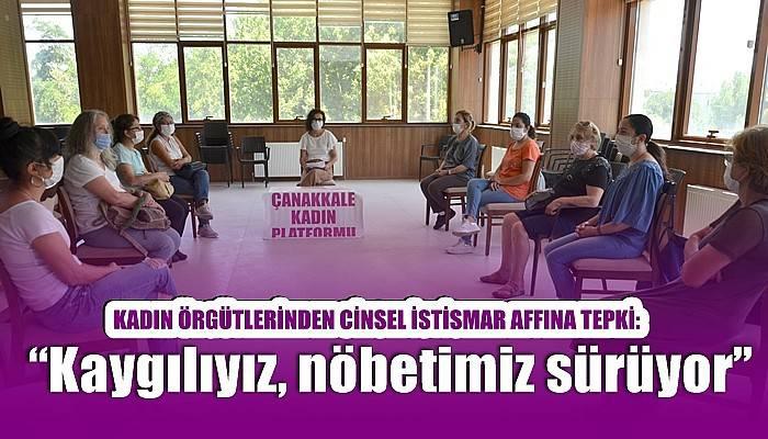 KADIN ÖRGÜTLERİNDEN CİNSEL İSTİSMAR AFFINA TEPKİ