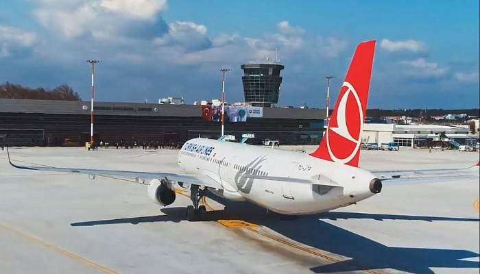 Havalimanında 12 bin 201 yolcuya hizmet verildi