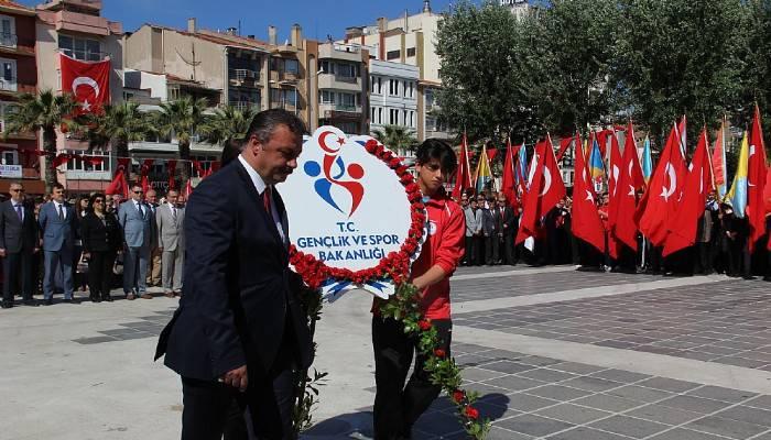 Çanakkale'de 19 Mayıs kutlamaları (VİDEO)