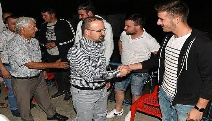 AK Parti Grup Başkanvekili Turan köy ziyaretlerini sürdürüyor
