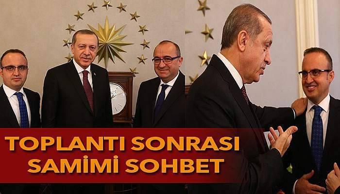 Cumhurbaşkanı Erdoğan, milletvekilleriyle görüştü