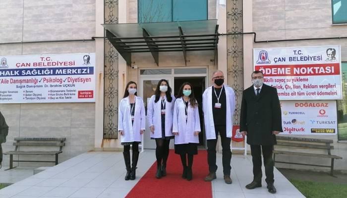 Çan Halk Sağlığı Merkezi açıldı
