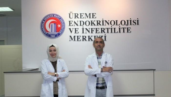 ÇOMÜ Hastanesinde İnfertil Hastalara Aşılama İşlemine Başlandı