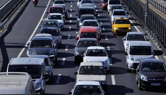Motorlu araç sayısı arttı!