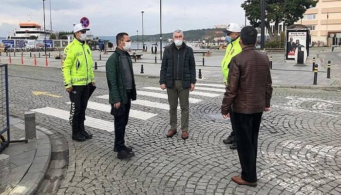 Vali İlhami Aktaş, Hafta Sonu Sokağa Çıkma Kısıtlaması Tedbirlerini Denetledi
