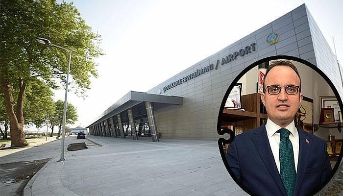 Çanakkale Havaalanı Yeni Terminal Binasında Sona Gelindi