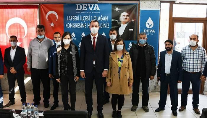 Lapseki'de DEVA partisi kongresi yapıldı